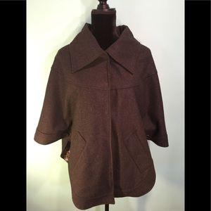 Steve Madden Poncho Jacket Coat Size S/M